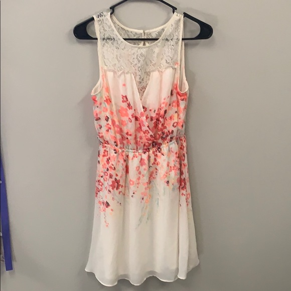 Candie's Dresses & Skirts - White Lace Dress